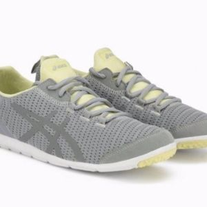 Asics MetroLyte sneakers light gray yellow 8